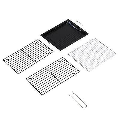 """41"""" Stainless Steel Folding Charcoal Barbecue"""