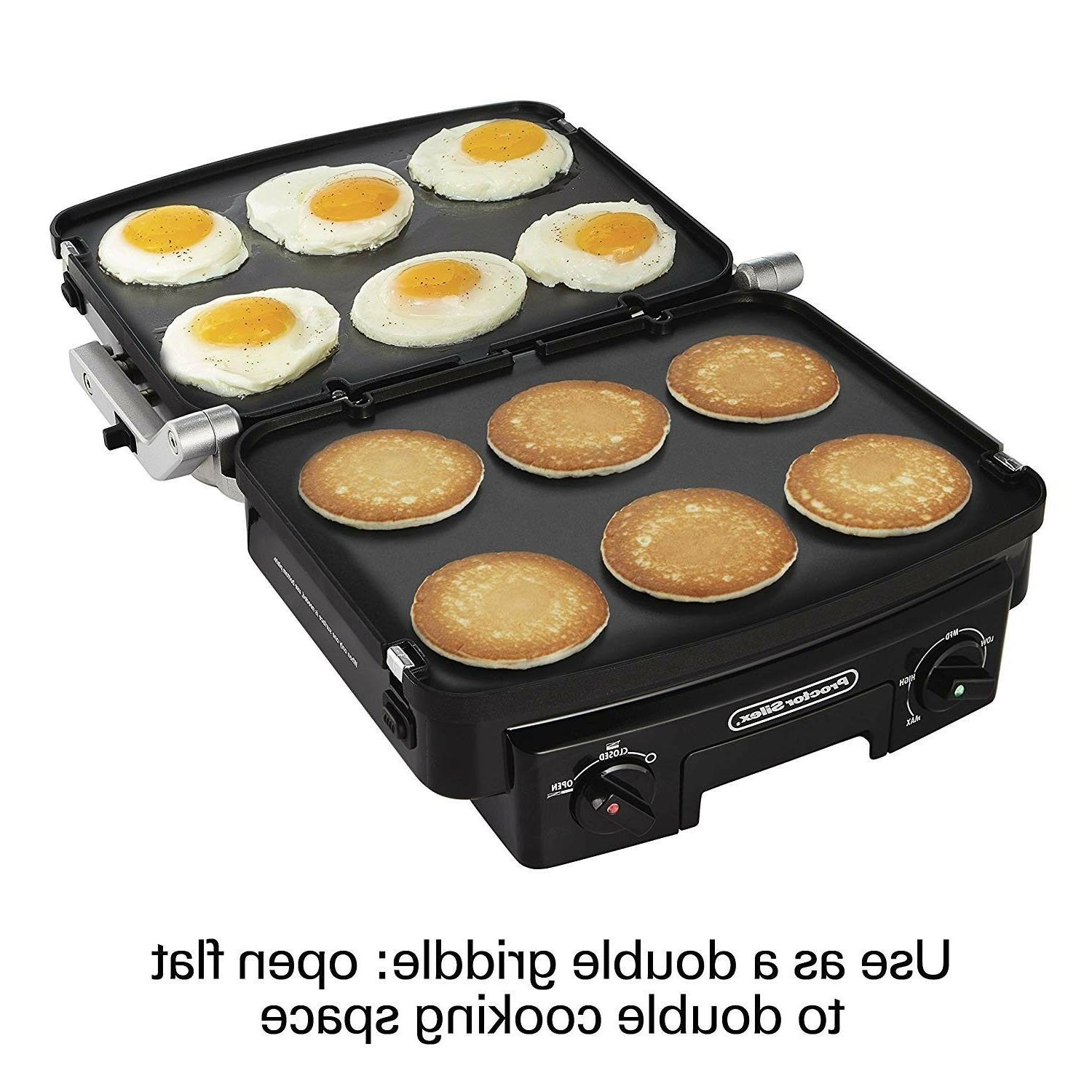 5 in 1 indoor countertop grill griddle