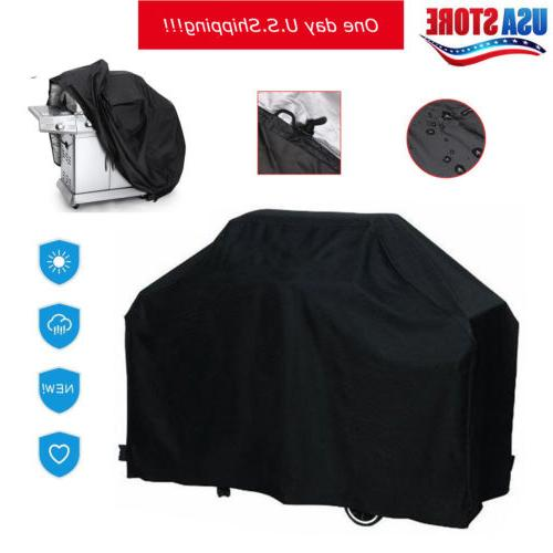 """Large 57"""" 67"""" BBQ Gas Grill Cover Barbecue Protection Waterp"""