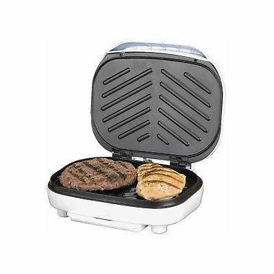 Brentwood - 2-slice Contact Grill - White