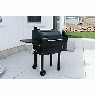 Camp Chef Wood Fired Grill & Smoker Black