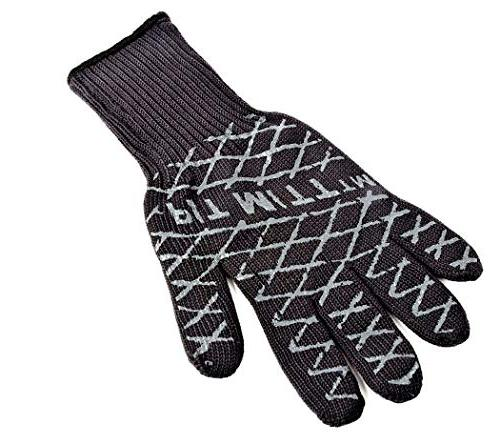 Charcoal Companion Ultimate Barbecue Pit Mitt Glove - For Gr