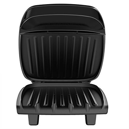 George Foreman Classic Plate Indoor Grill and Panini Press, GR2060B