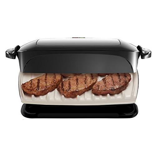 George Foreman 5-Serving Plate Grill Press,