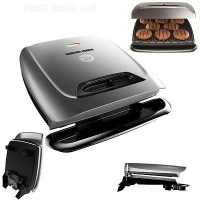 George Foreman 8-Serving Classic Plate Grill and Panini Pres