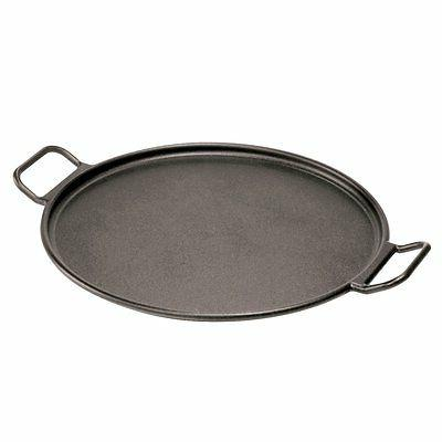 Lodge Pro-Logic P14P3 Cast Iron Pizza Pan, Black, 14-inch, N