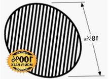 Music City Metals 69991 Matte Cast Iron Cooking Grid Replace