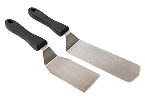 Camp Chef SPSET Professional Spatula Set: Stainless Steel Pa