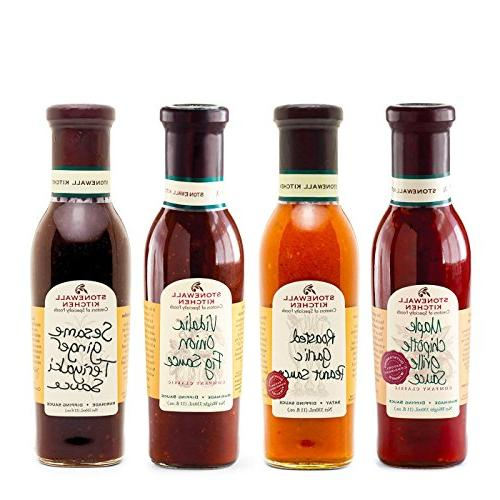 Stonewall Kitchen Grille Sauce Collection