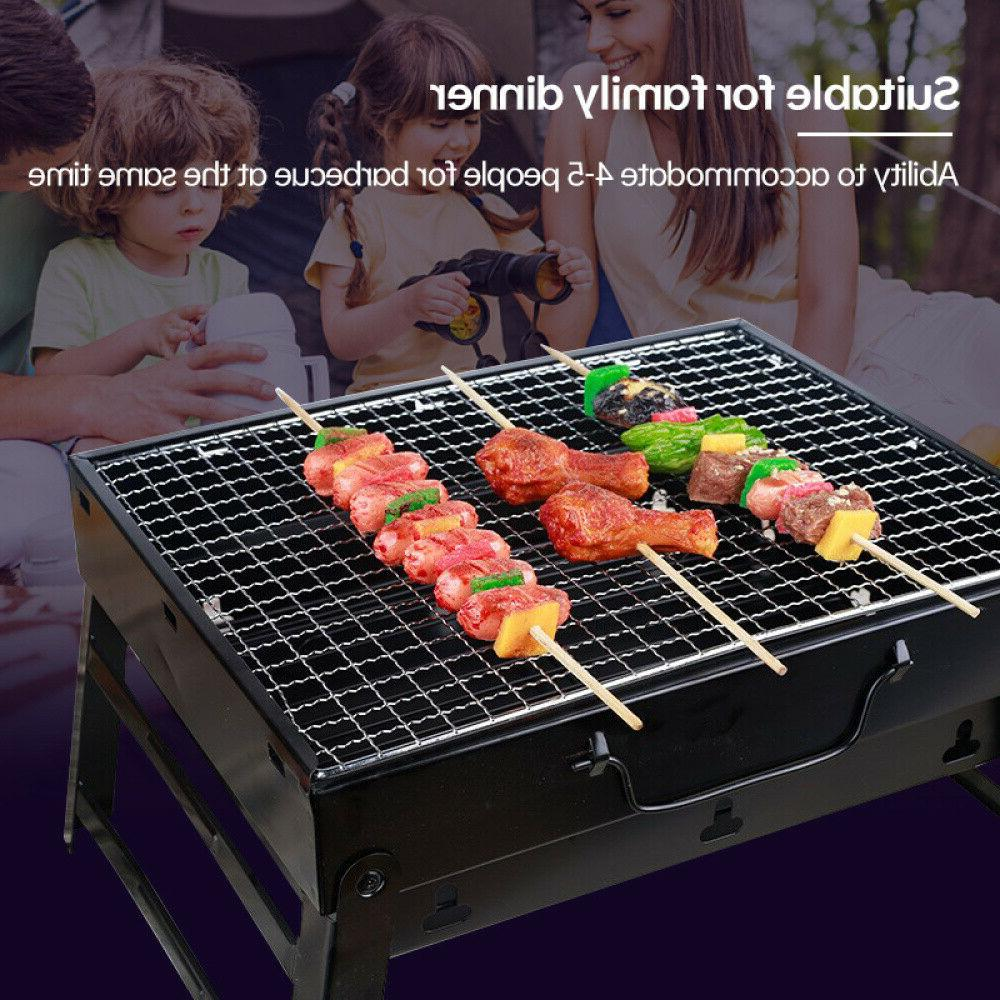 BBQ Barbecue Grill Folding Portable Camping Outdoor