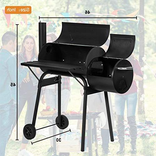 BBQ Charcoal Outdoor Pit Patio Home Meat Cooker Process Not Black