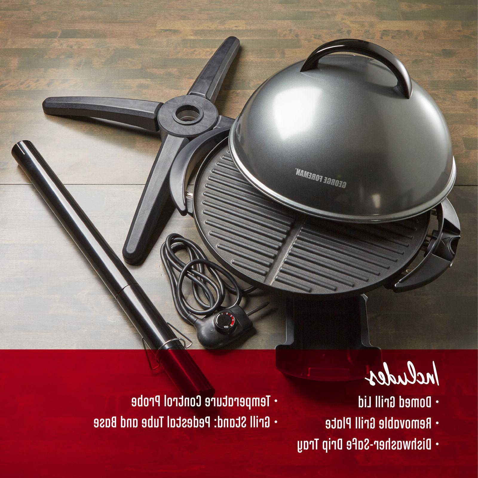 George Foreman Outdoor Cooking Serve New