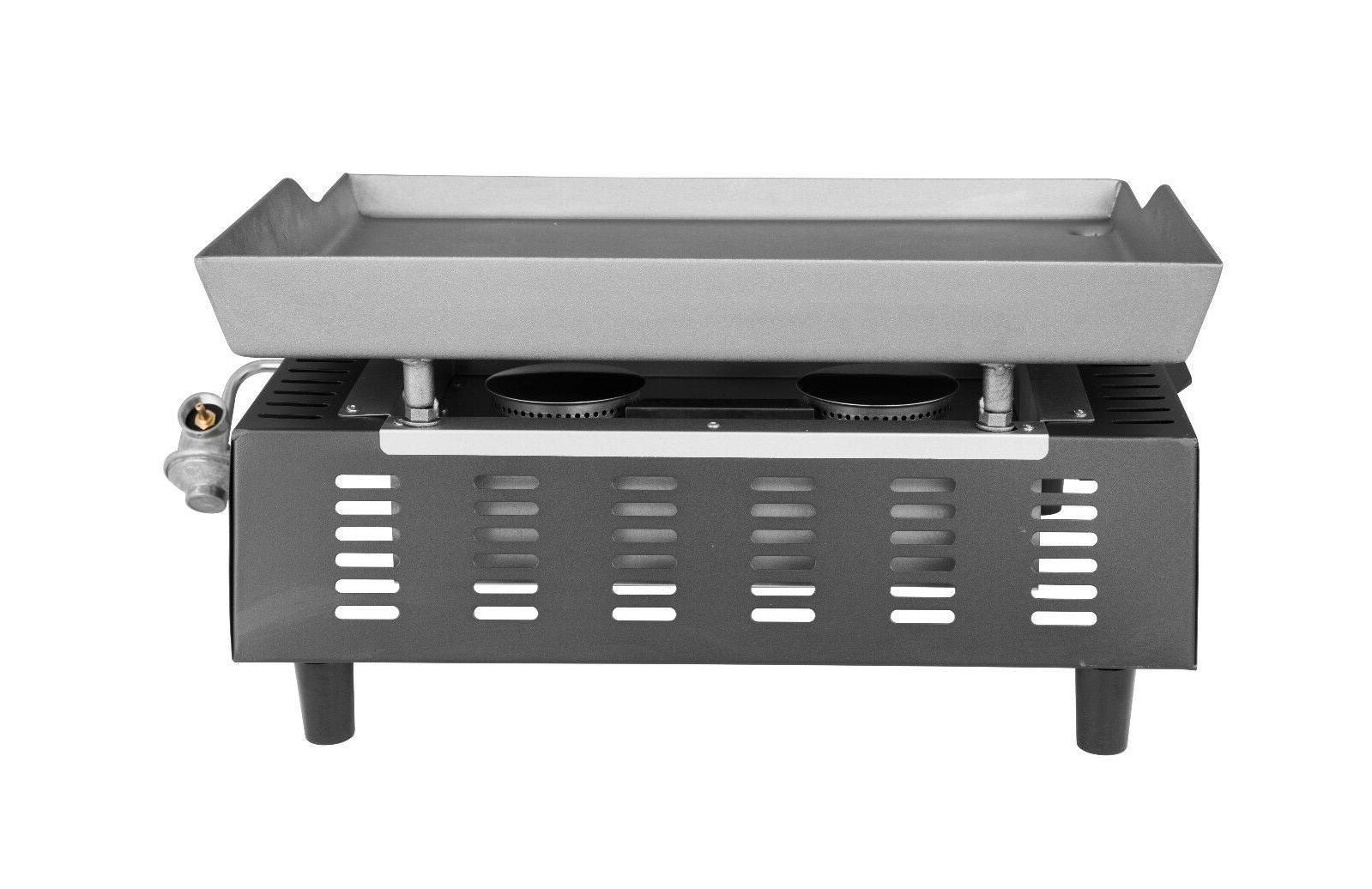 Gas Grill 2 Tabletop Portable PD1201