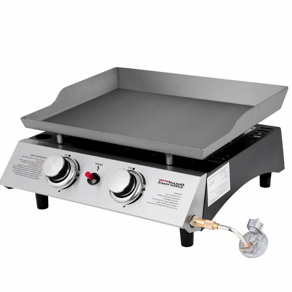 bbq propane gas grill griddle