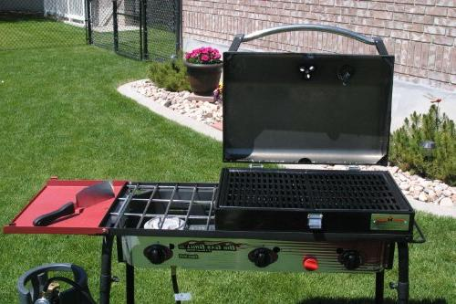 Camp Big 3 Burner Grill