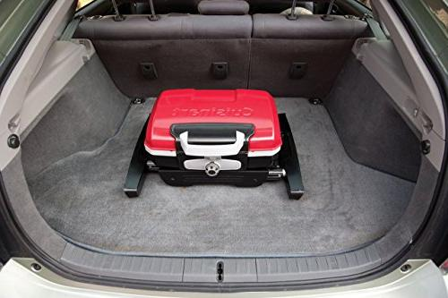 Portable Gas Grill, Red