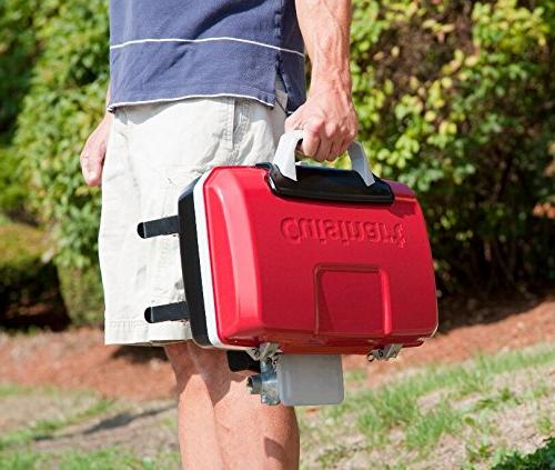 Cuisinart Gourmet Portable Tabletop Gas Red