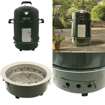 Charcoal Bullet Smoker BBQ Vertical Portable Cooker