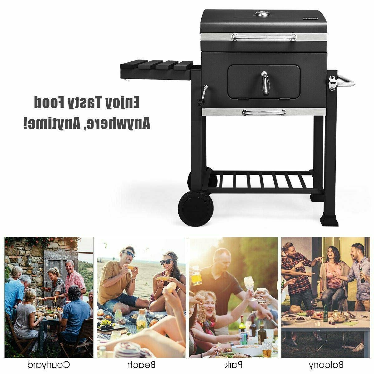 Costway Grill BBQ Outdoor Backyard