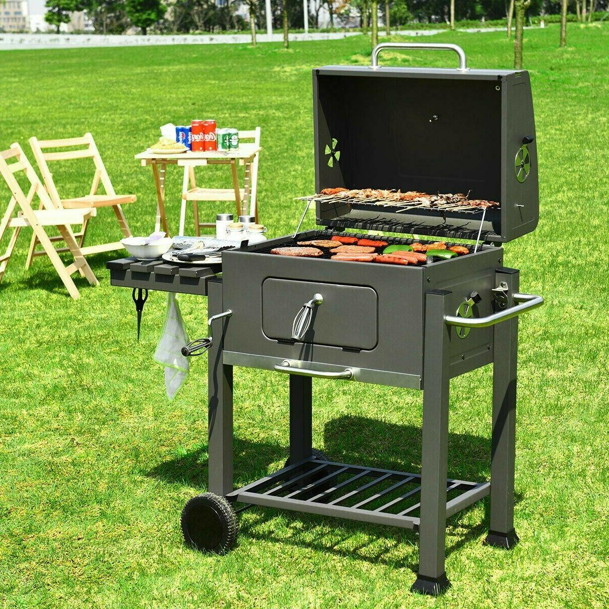 Costway Charcoal Grill BBQ Backyard Cooking