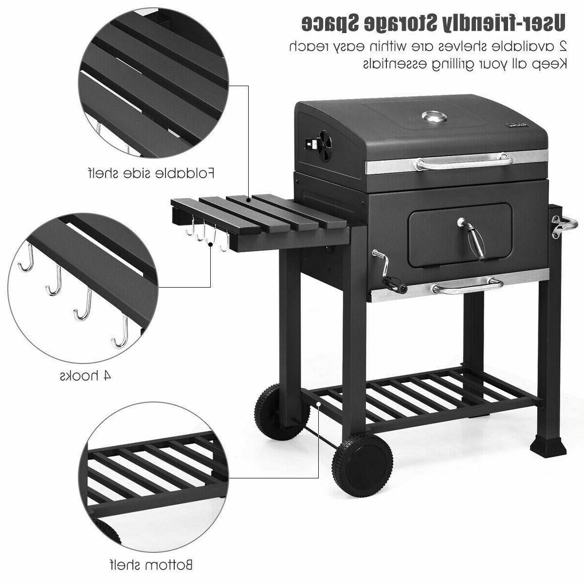 Costway Barbecue BBQ Grill Backyard