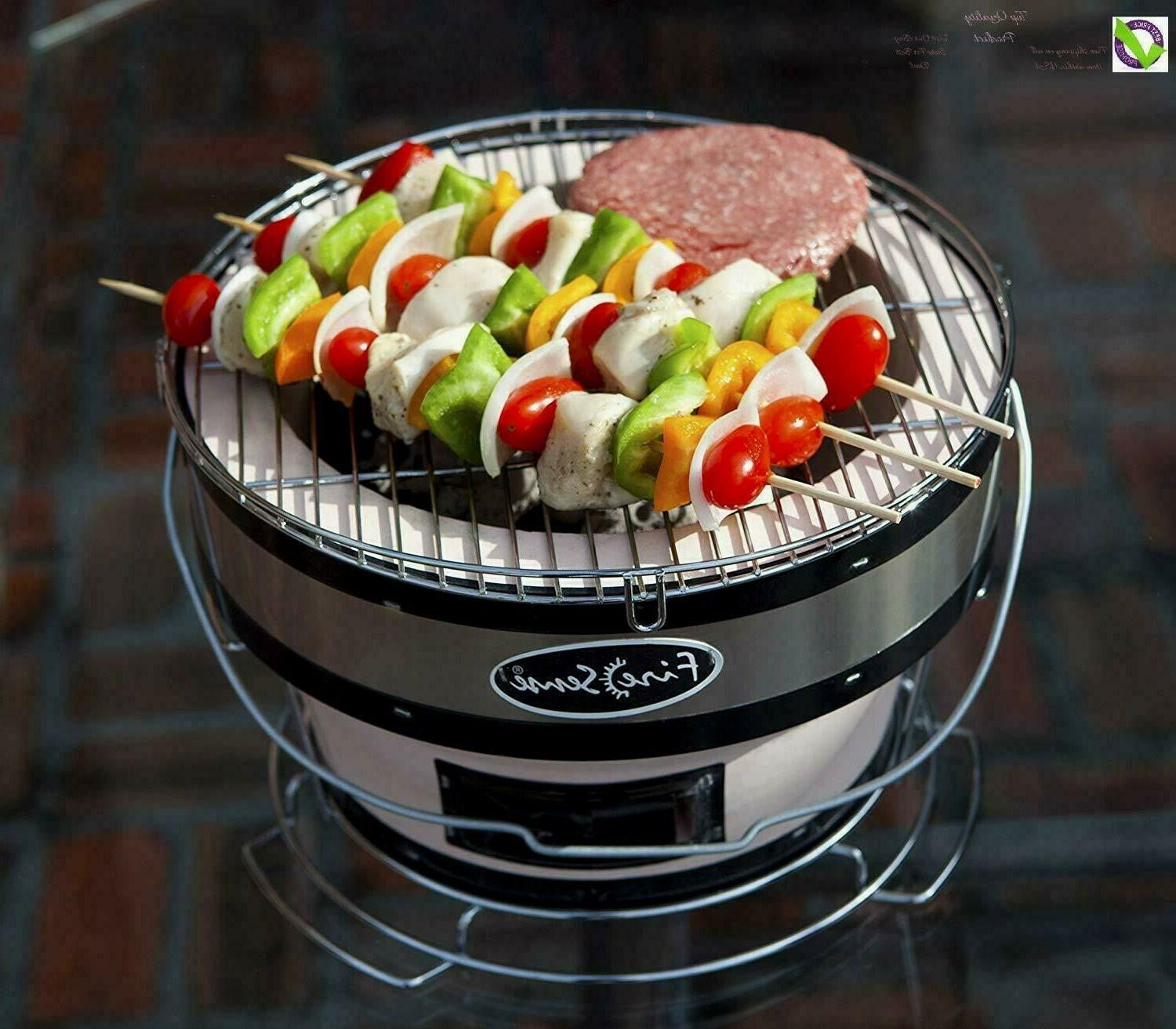 charcoal grill small table top cooking grill