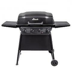 classic 4 burner backyard barbecue