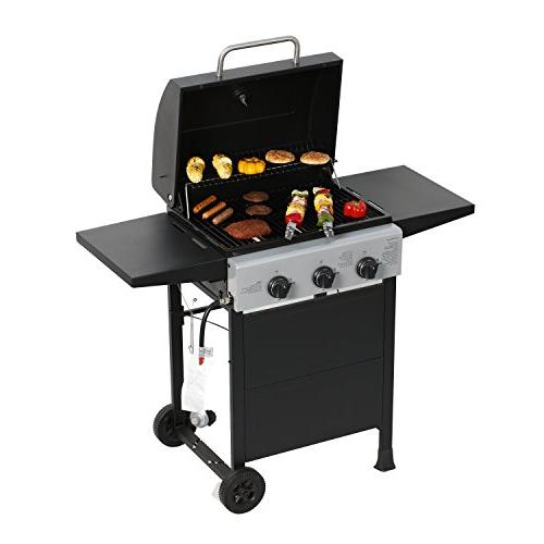 MASTER COOK Classic Liquid Propane Bunner Folding Table Black