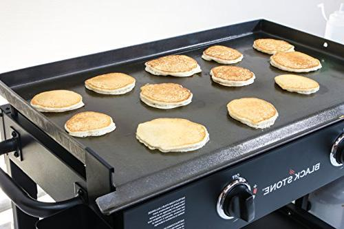 Blackstone 28 inch Outdoor Flat Gas Griddle - - Restaurant Quality