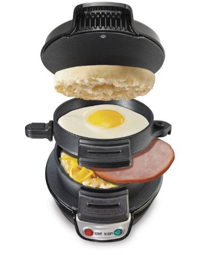 Hamilton Beach Electric Sandwich Maker Black Egg Maker Kitch