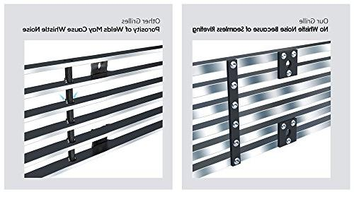 APS Fits Silverado 2500 Stainless T304 Billet Grille Grill #N19-C71756C