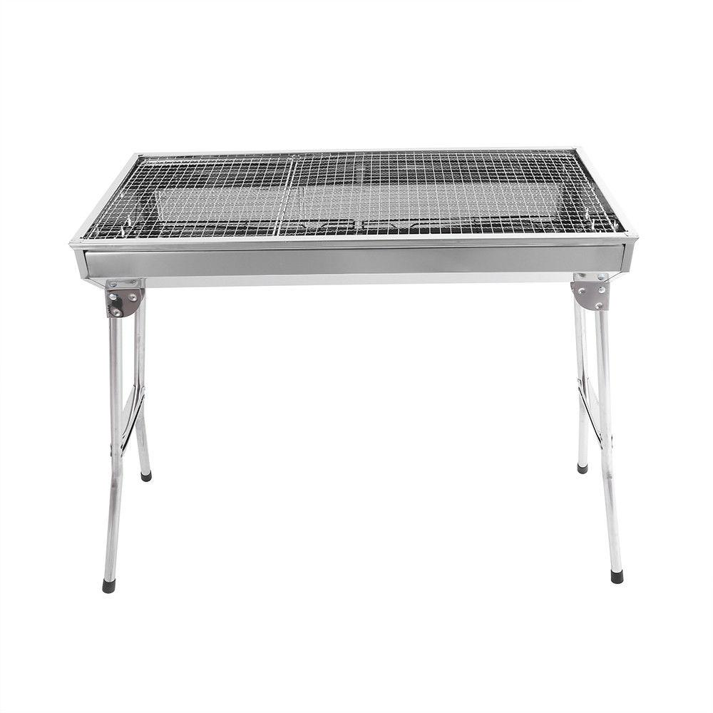 Fold Stove Kabob Stainless Steel Patio Camping