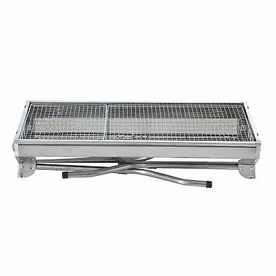 "29"" Fordable Grill Backyard Cooker Silver Party"