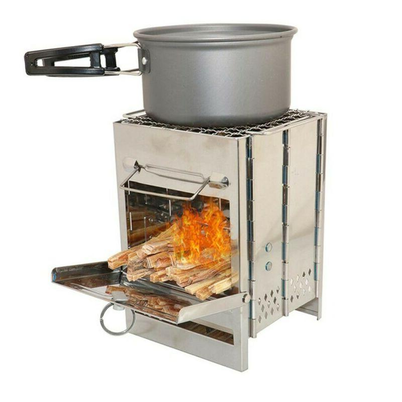Foldable Barbecue Charcoal Stove Camping