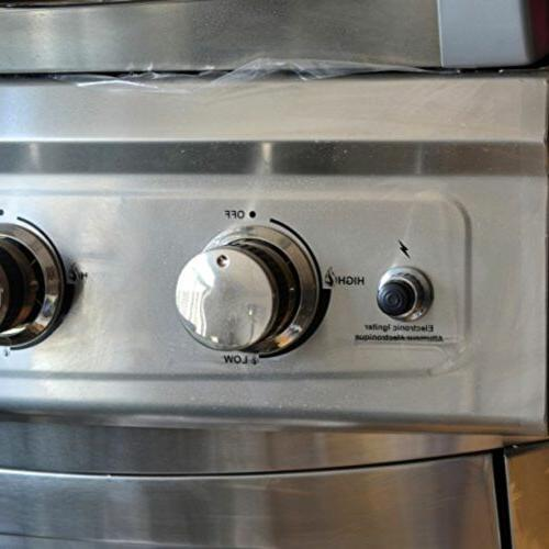 Gas Grill Part Silver Button