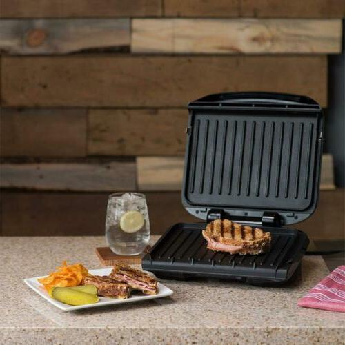George Foreman 4-Serving Removable Plate Press,