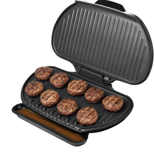 George Foreman Plate Grill GR144, 144-Square-Inch,