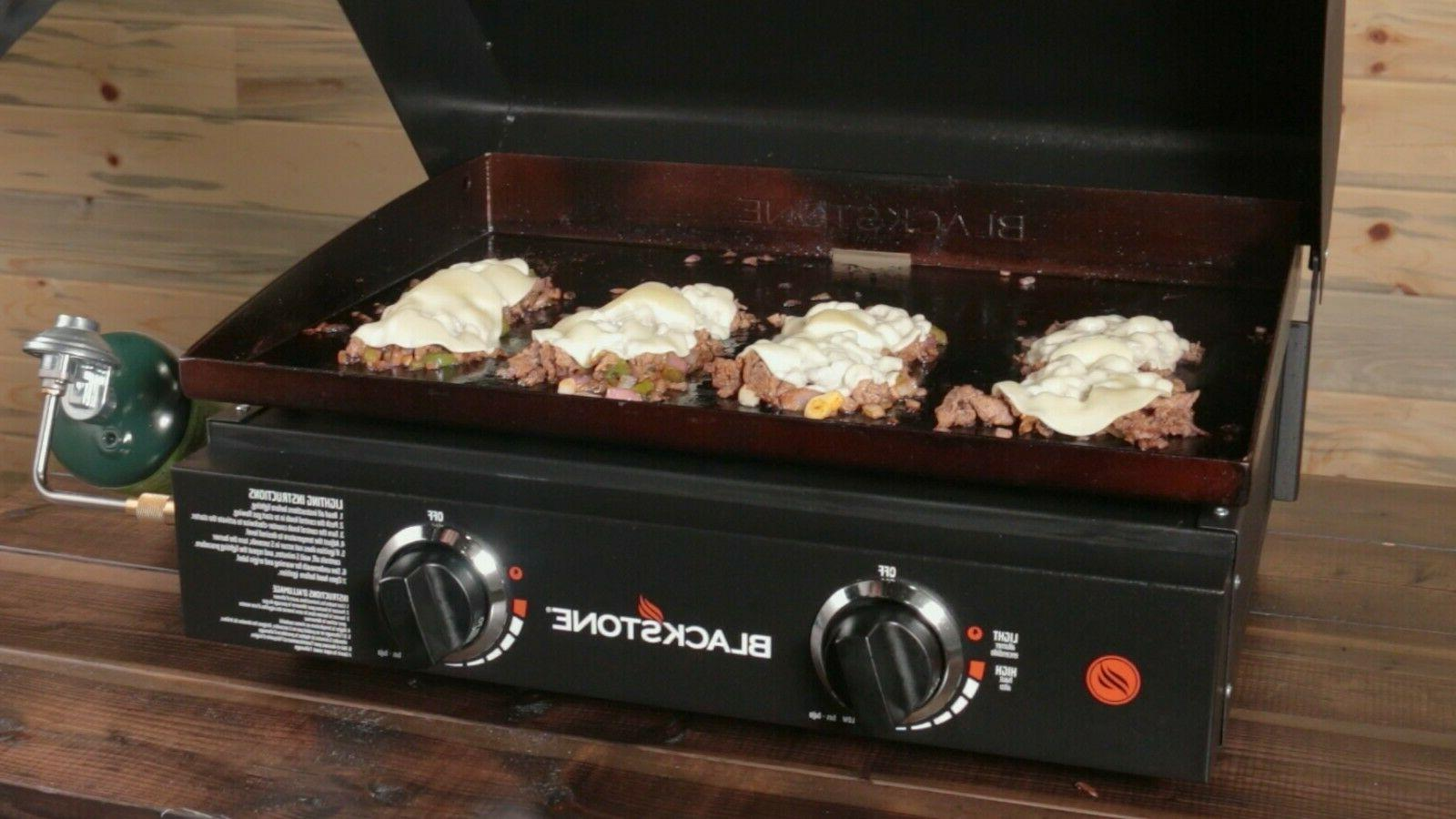 Blackstone Stand and Hood Portable Outdoor Cooking BBQ