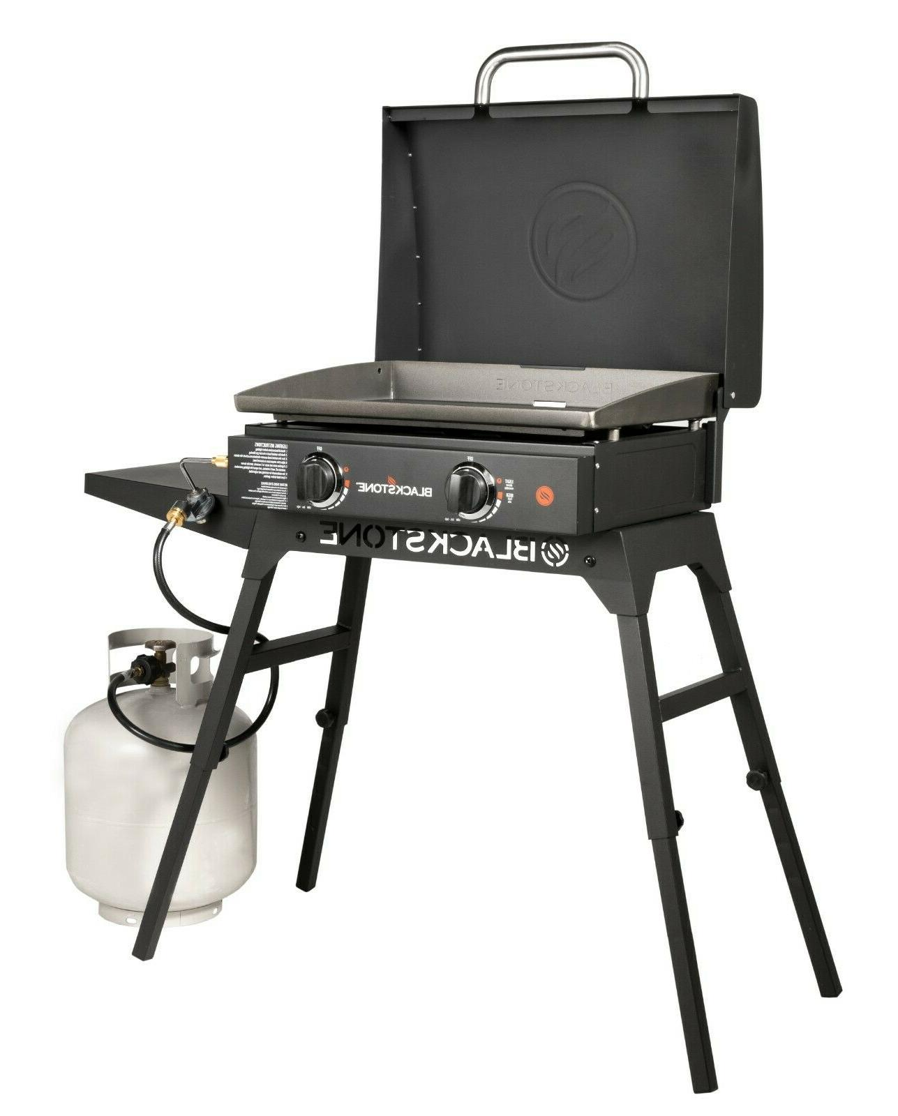 Blackstone Griddle Stand and Hood Outdoor Cooking BBQ