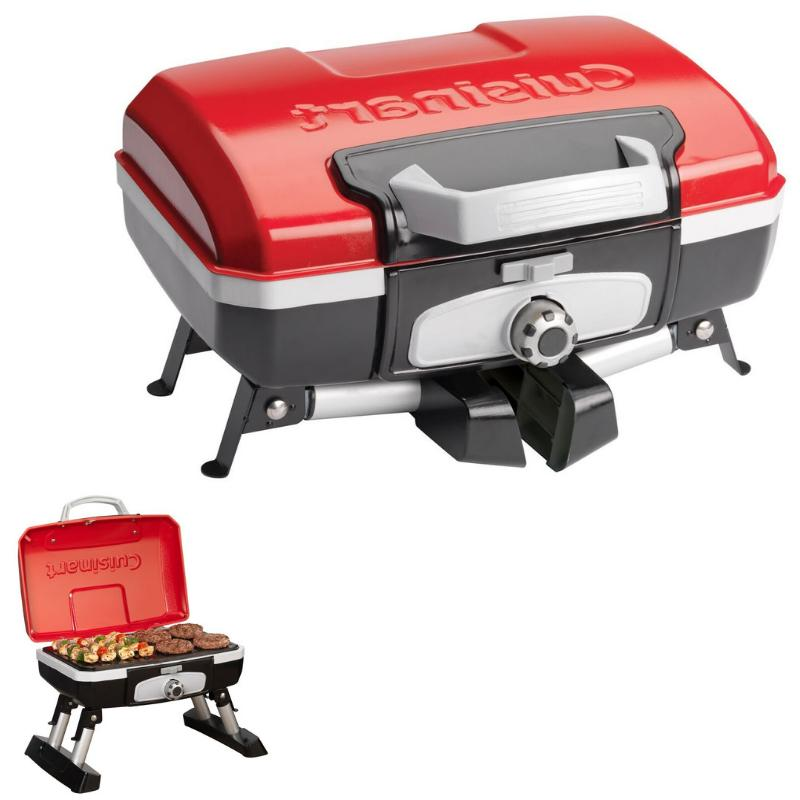 Grill For RV Camping BBQ Barbecue Gas Portable