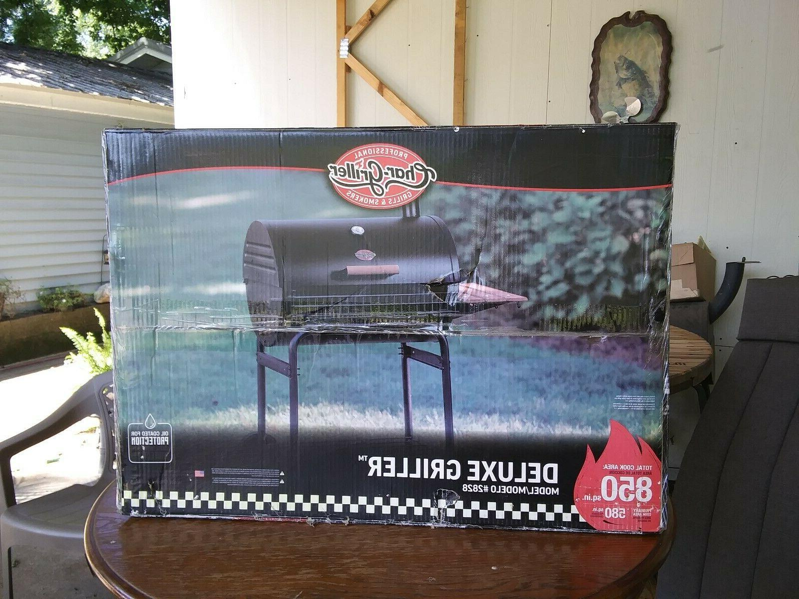 GRILL SMOKER CHAR-GRILLER 2828 THE