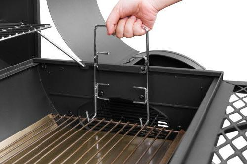 "Royal Gourmet 30"" Charcoal Smoker CC1830F Cover Space"