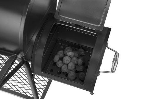 Royal BBQ Charcoal CC1830F with Cover Work Space