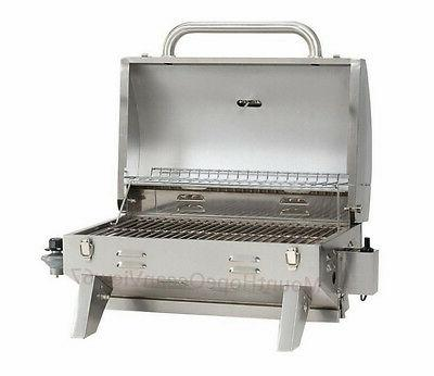 Gas Grill LP Steel Burner Backyard Patio BBQ Outdoor Boating