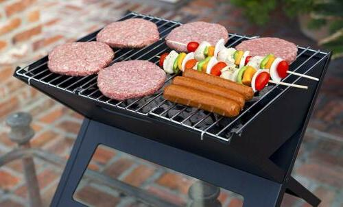 Fire Notebook Grill Folds flat 1-inch easy transport