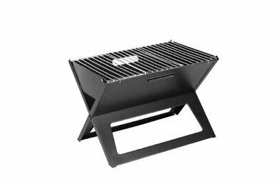 notebook charcoal grill folds flat to 1