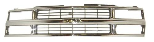 oe replacement chevrolet grille assembly partslink number