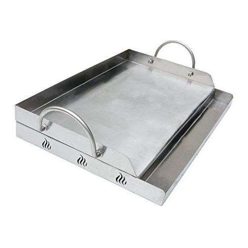 onlyfire universal stainless steel griddle