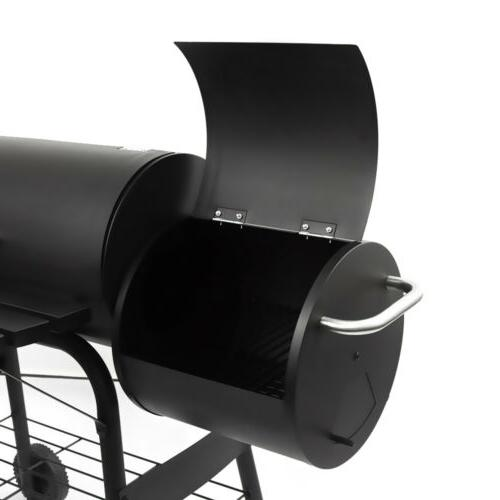 Outdoor Grill Charcoal Barbecue Pit Patio Backyard Meat