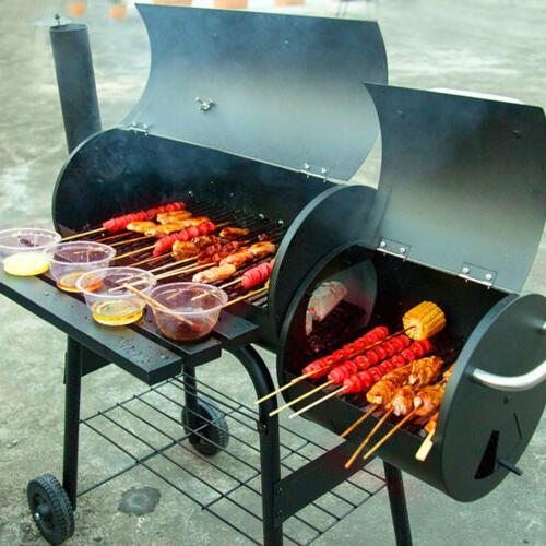 Outdoor BBQ Grill Backyard Meat Cooker